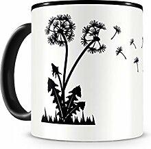 Samunshi® Pusteblume Tasse Kaffeetasse Teetasse