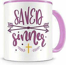 Samunshi® Saved Sinner Tasse Glaube Jesus