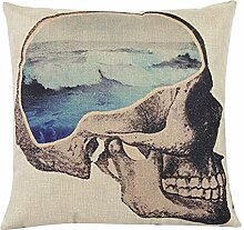 San Bodhi® Faux Linen Throw Pillow Case Cushion Cover Home Sofa Decoration