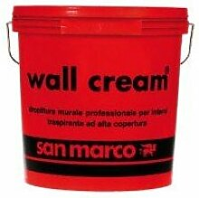 San Marco Wall Cream atmungsaktive Wandfarbe für Innenräume, hohe Deckkraft., weiß