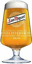 San Miguel Biergläser, 568 ml, 2 Stück inklusive
