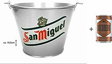 San Miguel Flaschenkühler Bierkühler Eimer