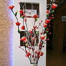 San Tai@Blume Zuhause Hochzeit Garten Dekoration,Lieferinhalt:(1pcs),Keine Flaschen