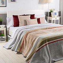Sancarlos ARTICO Überwurf, Grau, für Bett mit