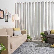 Sancarlos Duschvorhang aus flauschigem 140x0.2x240