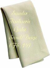 Sander Tischdecke Gala natur Größe 135x170 cm