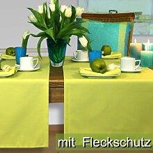 Sander Tischdecke Loft apfelgrün Größe 135x170