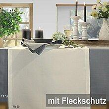 Sander Tischdecke Loft creme Größe 135x170 cm