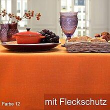 Sander Tischdecke Loft orange Größe 135x220 cm