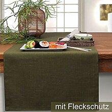 Sander Tischdecke/Mitteldecke LOFT 85x85cm oliv (6)