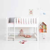 Sanders Bett halbhohes Kinderbett mit gerader