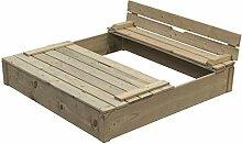 Sandkasten für Kinder Buddelkiste Sandkasten mit