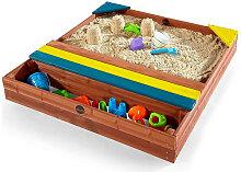 SANDKASTEN Plum Classic Store-It Sand Pit , Blau,