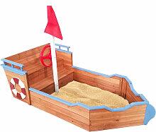 Sandkasten Schiff von 158x78x103 cm - Outdoor Toys