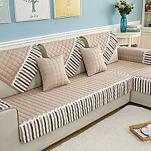 SANDM Jacquard Sofa-Überwürfe, Anti-rutsch Sofa