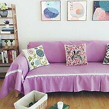 SANDM Volltonfarbe Sofabezug, Aus Stoff