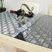 SANDM Wasserdicht pvc tischdecke, Transparente
