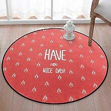 SANDM Weihnachten Runde Teppich, PVC Eingang
