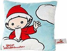 Sandmann Kissen blau, rot ++ DAS Ostprodukte Geschenk – DDR Traditionsprodukt und Ossi Kultprodukt – Geschenkidee für alle Ostalgiker aus Ostdeutschland vom Ostprodukte Experten – Ostpaket mit DDR Klassiker – Ideal für jedes DDR Geschenkset ++ GRATIS: Zu jeder Lieferung erhalten Sie immer genau die hier angezeigte DDR Geschenkkarte (copyright Ostprodukte-Versand) !! ++