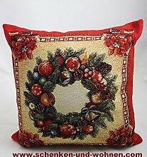 Sandner Kissenhülle Gobelin - Weihnachten-