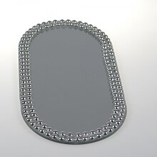Sandra Rich Spiegelplatte, Deko Spiegel, Tischspiegel 30x14 cm, oval (9,95 EUR / Stück)