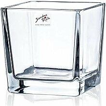 Sandra Rich Teelichthalter Windlicht Cube H. 10cm