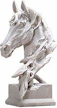Sandstein Pferd Modellierung Ornamente Skulptur