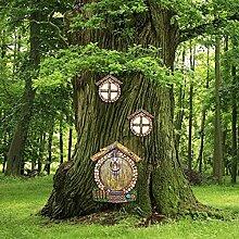 SANGSHI Gartenzwerg Ornament, Gartenfigur aus