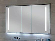 Sanipa Reflection Alu-Wandeinbau-Spiegelschrank