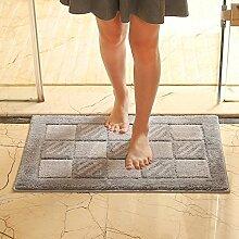 Sanitär Badezimmer Wasserabsorbierenden Teppich Matte,Foot Pad,Bodenmatte,Fußabtreter,Tür Matten In Der Halle,Schlafzimmer Tür Matte-B 45x70cm(18x28inch)