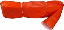Sanitaer PE Isolierschlauch DN70 rot Rohr Dämmung Schlauch Isolierung Rohrisolierung Schutzschlauch Isolation Rohrdämmung (w. Stabilo)