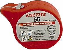Sanitop-Wingenroth Gewindedichtfaden Loctite 55, 1 Stück, 50 m, 25501 1
