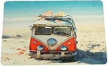 Sanixa PA32057 Vintage Anti-Rutsch Badematte VW