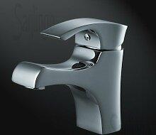 Sanlingo Designer Einhebel Bad Waschbecken Armatur der Serie Sydney Chrom
