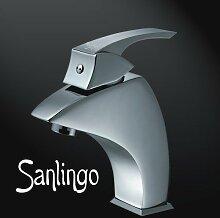 Sanlingo Designer Waschbecken Waschtisch Armatur Badarmatur Serie Oslo
