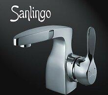 Sanlingo Designer Waschbecken Waschtisch Armatur Badarmatur Serie Chicago