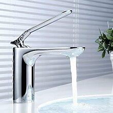 Sanlingo Waschtischarmatur Waschbecken Einhebelmischer Armatur Wasserhahn Mischbatterie Chrom
