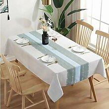 SANMEN Kleine frische Tischdecke Tischtuch
