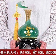 SANMULYH Die Vase Dekoration Basteln Kreative Inneneinrichtung Dekoration Dekoration, F