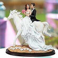 SANMULYH Hochzeit Custom Hochzeit Geschenke Hochzeit Handwerk Kreative Praktische Abbildung Dekoration, B