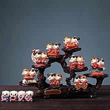 SANMULYH Kreative Hochzeit Geschenk Geschenk Home Ausstattung Startseite Dekoration Dekoration, D
