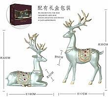 SANMULYH Kreative Weihnachtsverzierungen Heimtextilien Dekoration Hochzeit Geschenk Set, C
