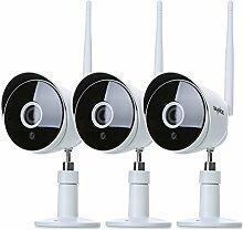 SANNCE 3pcs HD IP Kamera 1080P Wireless Wifi Sicherheit ONVIF Überwachungskamera Innen Nachtsicht Netzwerk Baby Monitor für Außenbereich IP66