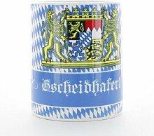 Sannys Bayerisches Kaffeehaferl mit Aufdruck -