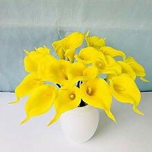 Sanqing Künstliche Blume Calla Lilie künstliche