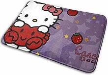 SanRe Hello Kitty Strawberry Fußmatte für den
