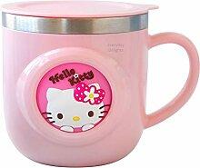 Sanrio Hello Kitty Edelstahl-Isolierbecher mit
