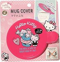 Sanrio Hello Kitty Mag Cup Cover mit Clip 9,2 ×
