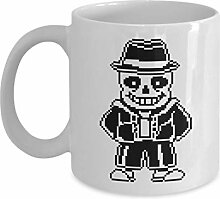 Sans Skeleton Cool Pixel Art Shirt Playera