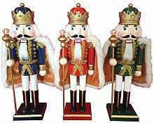 Santa's Workshop Royal King Nutcracker, 3 Asst